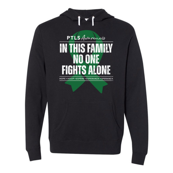 In This Family No One Fights Alone Hooded Sweatshirt