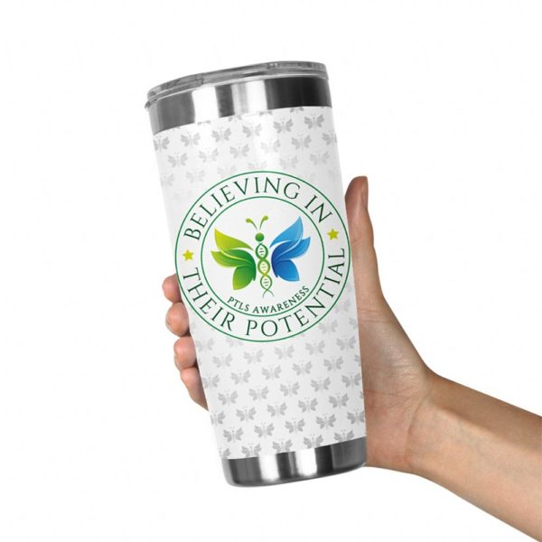 Stainless Steel Tumbler 20oz Butterfly